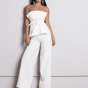 Pants - Sleevesless two piece sashes